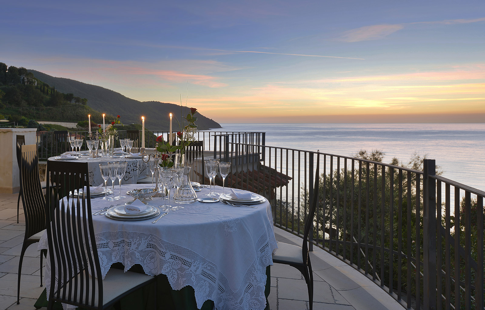 Terrace by the sea: | Enjoy Your Stay